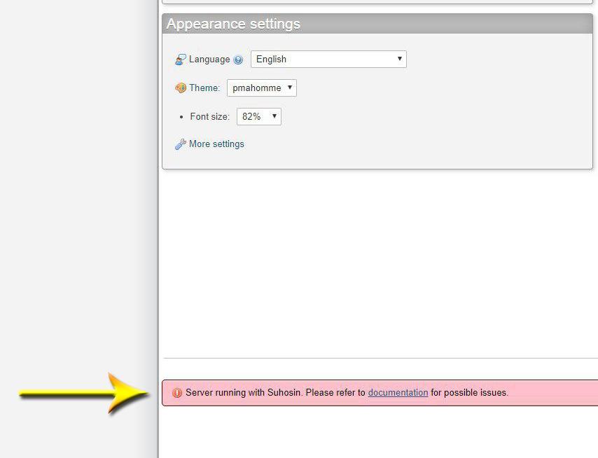 آیا به خطای Suhosin در phpmyadmin بر خورده اید؟ روش حل آن !